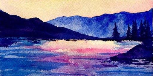 Watercolor Workshop: Paint Idaho Mountains