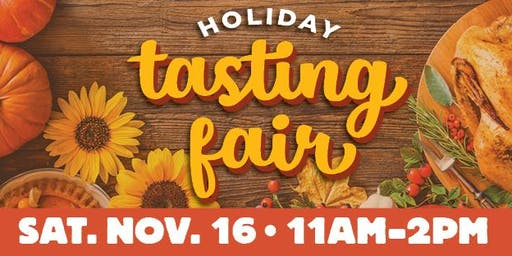 FREE Holiday Tasting Fair Wichita - Bradley Fair