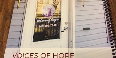 December Voices of Hope Volunteer Orientation