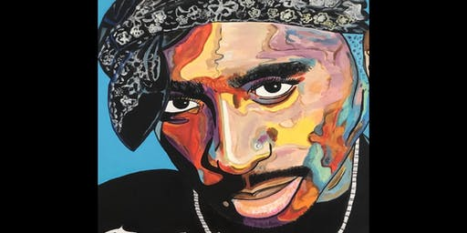 California Love-Tupac Tribute Paint Party, Trivia and Beats