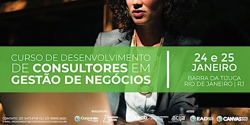 Curso de Desenvolvimento de Consultores em Gestão de Negócios
