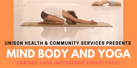 Mind Body and Yoga tickets