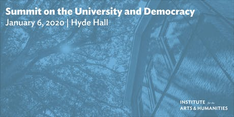 Summit on the University and Democracy tickets