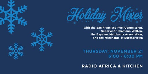 Holiday Mixer with the Port at Radio Africa