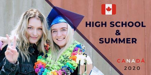 High School y Summer en Canadá