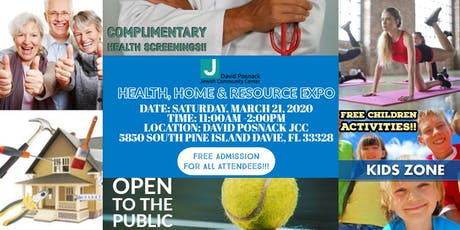 Home, Health and Resource Expo David Posnack JCC tickets