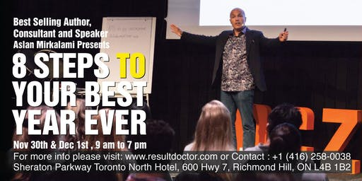 8 Steps to Your Best Year Ever (Combination of 3 Tickets)