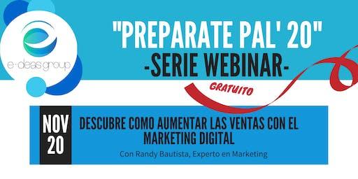 Descubre como aumentar las ventas con el Marketing Digital
