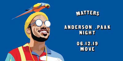 Anderson .Paak Night, Exeter