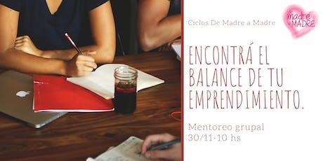 Balance 2019- Mentoring grupal entradas