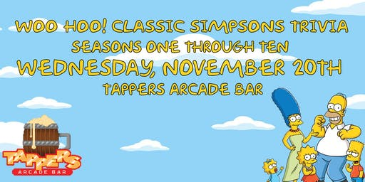 WOO HOO! Classic Simpsons Trivia - Seasons 1 - 10