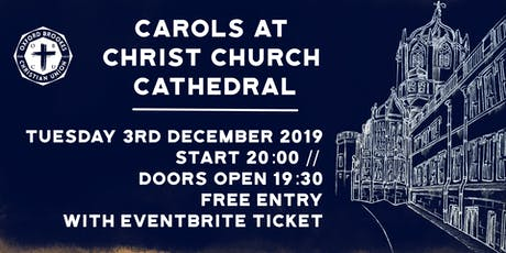 Oxford Brookes CU Carol Service 2019 tickets