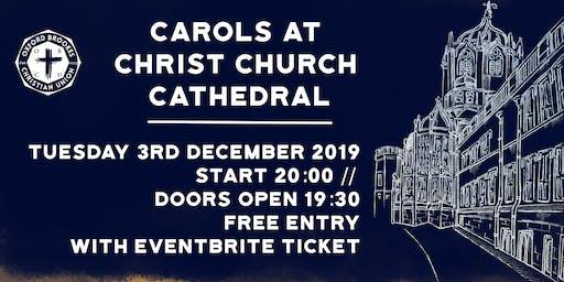 Oxford Brookes CU Carol Service 2019