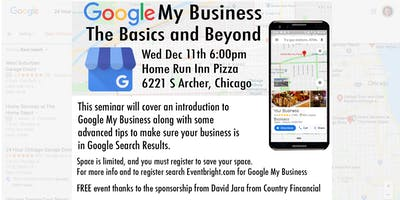Google My Business The Basics and Beyond