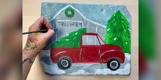 Christmas Truck: Dundalk, Seasoned Mariner with Artist Katie Detrich!