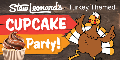 Turkey-Themed Cupcakes Class for Toddlers