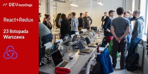 DevMeeting React+Redux Warszawa 23 listopada 2019r.
