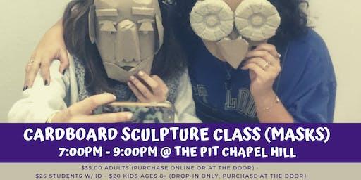 Cardboard Sculpture Class (Masks)