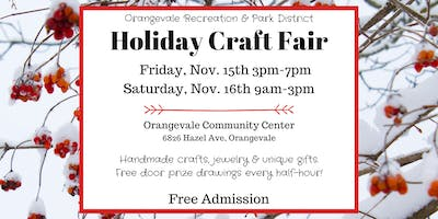 22nd Annual Holiday Craft Fair