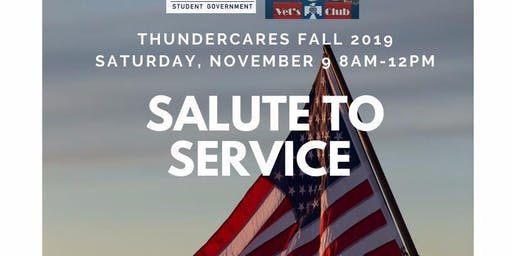 ThunderCares: Salute to Service