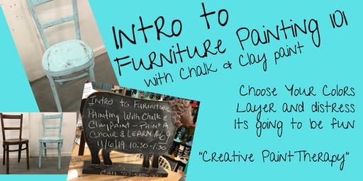 Intro to Furniture Painting with Chalk & Clay Paint