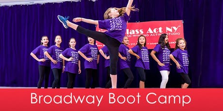 July Broadway Boot Camp tickets