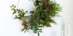 Fresh Holiday Wreath Workshop - Hailee Grace