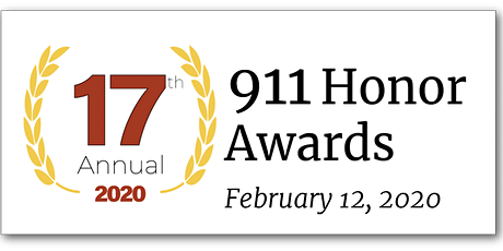 17th Annual 911 Honor Awards tickets