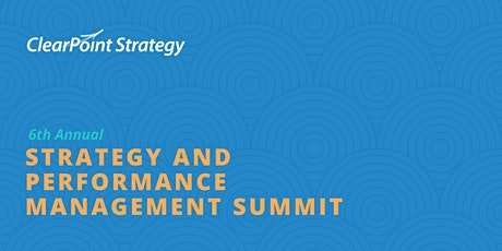 2020 Strategy and Performance Management Summit tickets