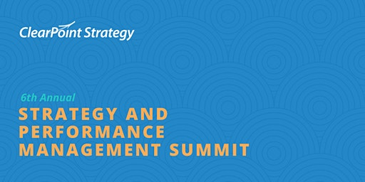2020 Strategy and Performance Management Summit