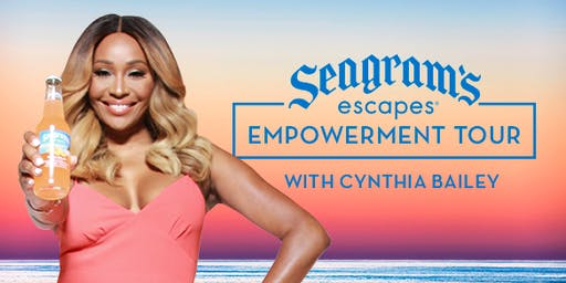 Seagram's Escapes Empowerment  Tour with Cynthia Bailey | Columbus