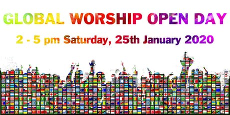 GLOBAL WORSHIP OPEN DAY tickets