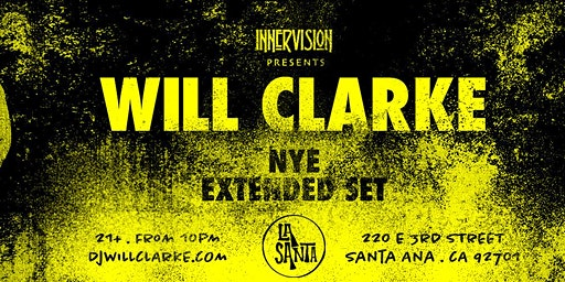 WILL CLARKE - NYE (Extended Set)