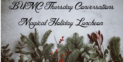 Thursday Conversations Holiday Luncheon