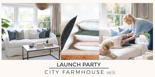 City Farmhouse and Co. Textile Line + Pillow Shop Launch Party