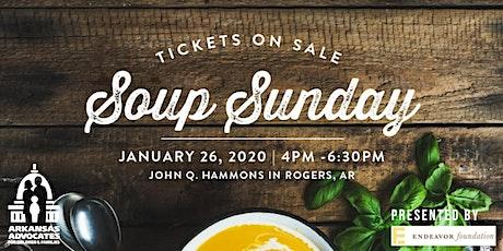 Arkansas Advocates 2020 Soup Sunday Northwest Arkansas tickets