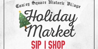 Cauley's Square Holiday Market & Toys for Tots Event