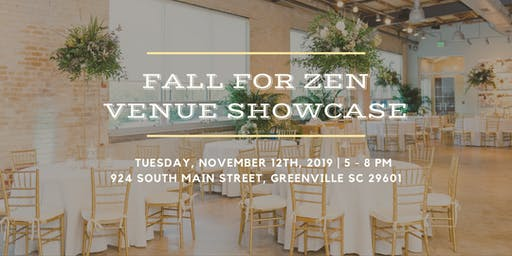 Fall for Zen Venue Showcase