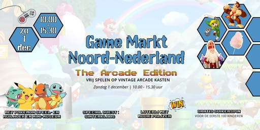 Game Markt Noord-Nederland: The Arcade Edition