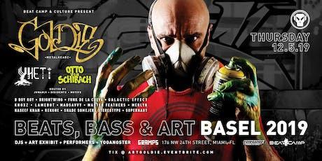 Beats, Bass & Art // Goldie //  Yheti // Basel 2019 tickets