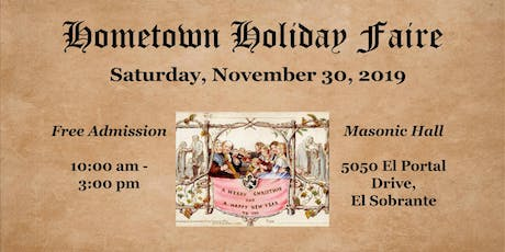 Hometown Holiday Faire tickets