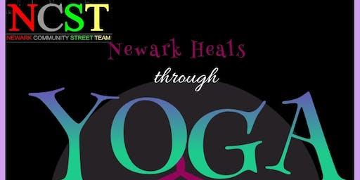 #NewarkHeals through Yoga