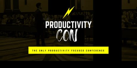 ProductivityCon | Find Focus, Plan Your Year & Build Balance tickets