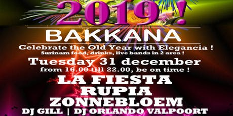 Elegancia Bakkana Owru Yari Party 2019 (Oudjaars Middag Party) tickets