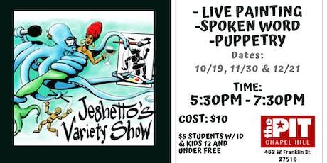 Jeghetto's Variety Show tickets