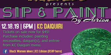Black Women Meet Presents: Sip & Paint with Avrion! tickets