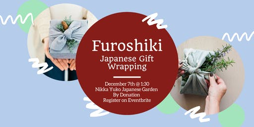 Furoshiki Holiday Wrapping