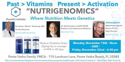 """Nutrigenomics"" - Where Nutrition Meets Genetics"
