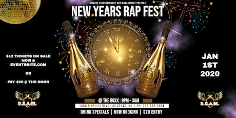 NEW YEARS RAP FEST (6th Annual) tickets
