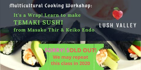 Temaki Sushi Workshop tickets